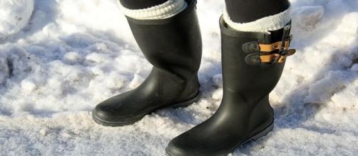 Galosce o rain boot must have inverno