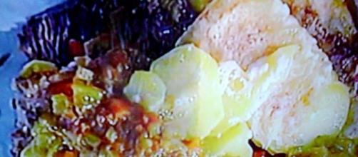 Ganascini al Marsala con patate al latte
