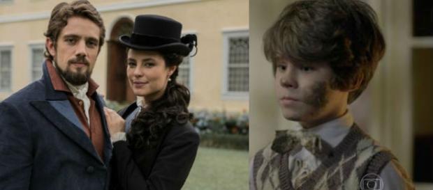 """Alex não é filho de Felipe em """"Além do Tempo"""""""