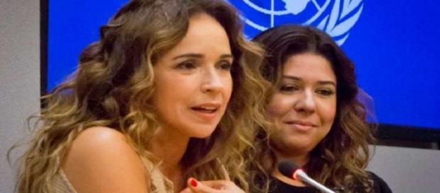 'Deus não é homofóbico', desabafa Daniela Mercury