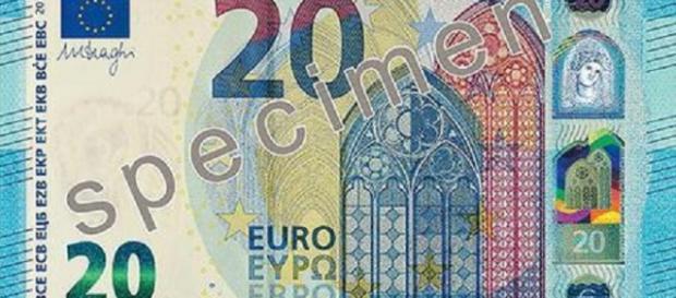 Ecco la nuova banconota da 20 euro