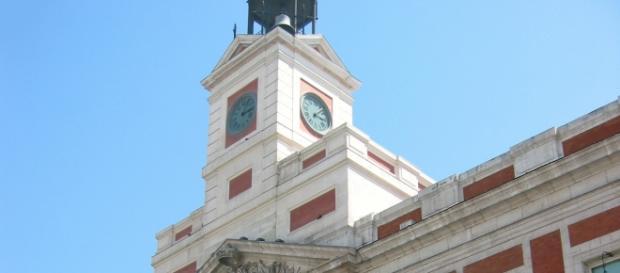 La famosa Puerta del Sol de Madrid