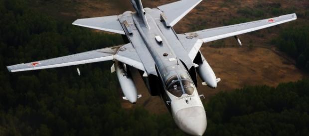Russian Su-24 bomber aircraft.