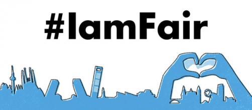 Hashtag oficial del evento de Fair Saturday