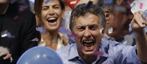 O presidente eleito da Argentina Maurício Macri