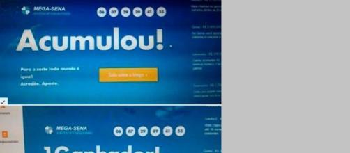 resultado pode ser fraude. fot: facebook