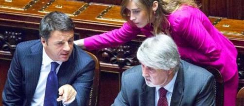 Riforma pensioni Renzi Boschi e Poletti