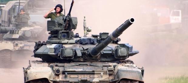 Carri armati russi in Siria, operazioni terrestri