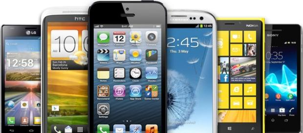 Coleccíon de smarphones. Iphone,HTC,Samsung