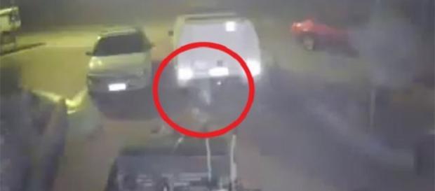 Fotografato fantasma in un parcheggio a Perth