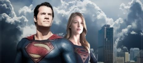 Fan Art: Supergirl and her cousin, Superman