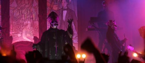 La band svedese Ghost al Live Club di Trezzo.