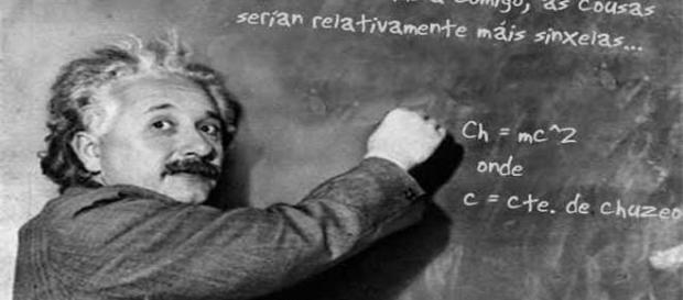 Albert Einstein's theory changed the world.
