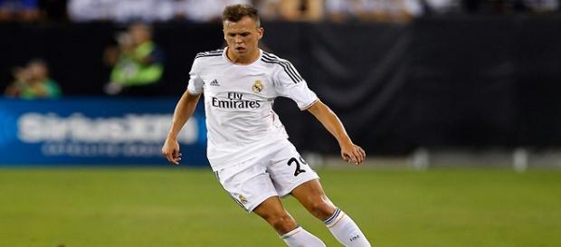 Cheryshev con la camiseta del Real Madrid
