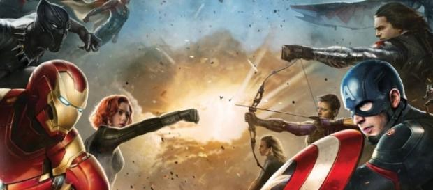 Ilustración de Capitán América Civil War