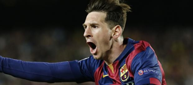Messi foi autor dos dois belos gols.