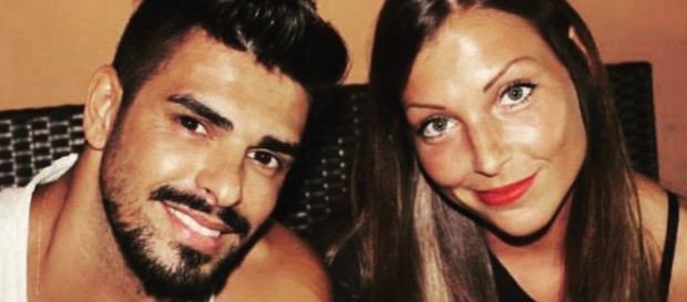 Tara e Cristian in una foto da Urban post.