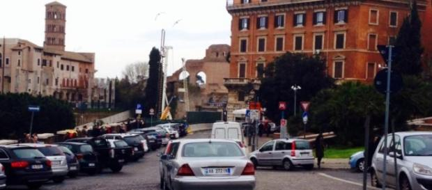 Un immagine di una delle strade di Roma