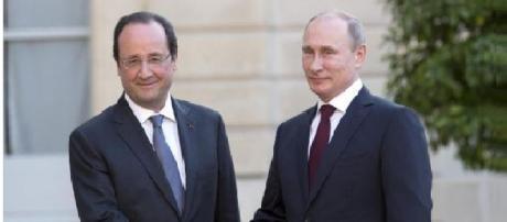Hollande ha incontrato Putin a Mosca