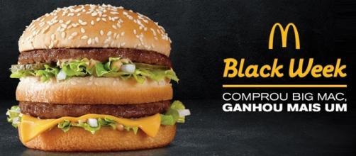 """""""Black Week"""" dará até 1 milhão de Big Macs"""