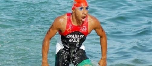 Crisanto Grajales, Exponente del triatlón mexicano