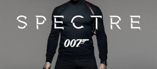 Daniel Craig nella locandina di 'Spectre'