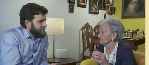 Gonzo y Ascensión en una entrevista realizada.