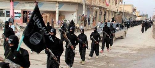Guerriglieri appartenenti all'Isis