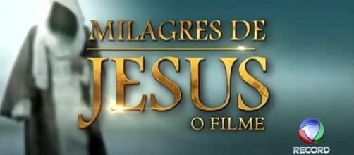 """""""Milagres de Jesus - o filme"""", especial fim de ano"""