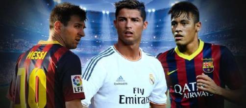 Neymar, Messi y Cristiano se disputarán el premio