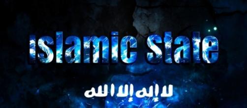 Una riproduzione inconografica inneggiante l'Isis