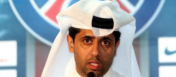 El presidente del PSG, Nasser al-Khelaifi