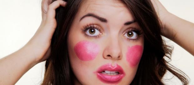Errores de maquillaje en chicas