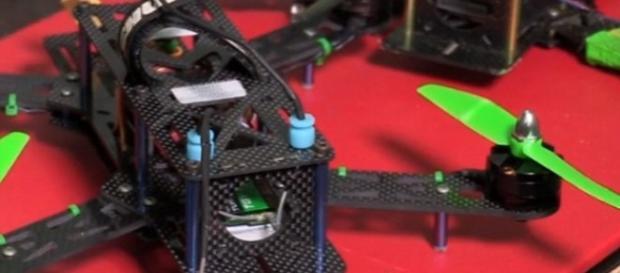 Foi esse o drone que feriu o menino