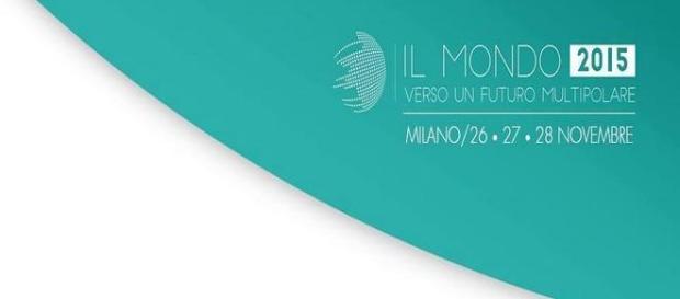 locandina dell'evento di geopolitica di Milano