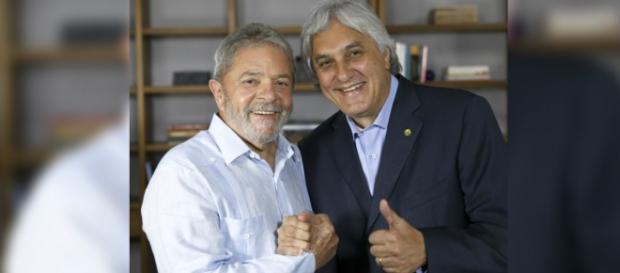 Lula detona o senador Delcídio
