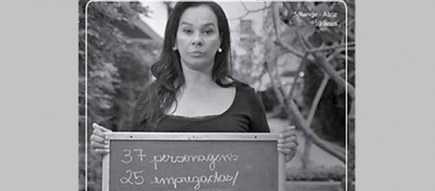 Solange Couto denuncia racismo na TV