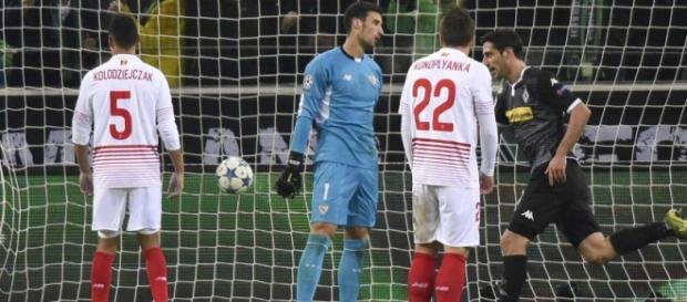 Uno de los goles del conjunto alemán.
