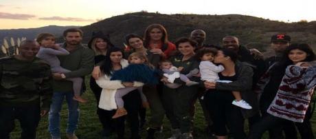 The whole Kardashian family got together