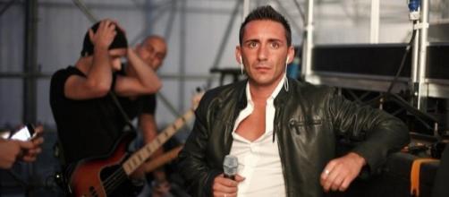 Il cantante Francesco Silvestre.