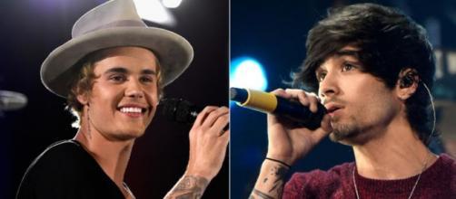 Os dois cantores têm uma boa relação.