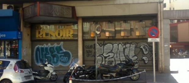 Cines Renoir Cuatro Caminos, cerrados (F. del A.)