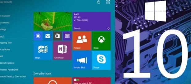 Imagen del sistema operativo Windows 10