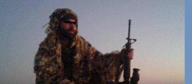 Rubio un român care luptă contra ISIS