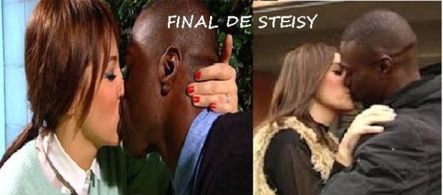 Steisy con Dosel, su elegido en la Final
