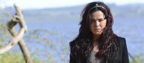 Ana Paula Arósio, como Clara, no filme.