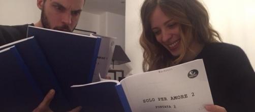 Lorenzo Balduccci e Laura Adriani.