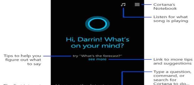Cortana será o assistente pessoal do Windows Phone