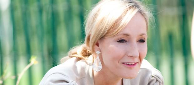 JK Rowling, escritora de la novela que se adaptará