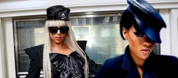 Lady Gaga e Rihanna agitam as redes sociais